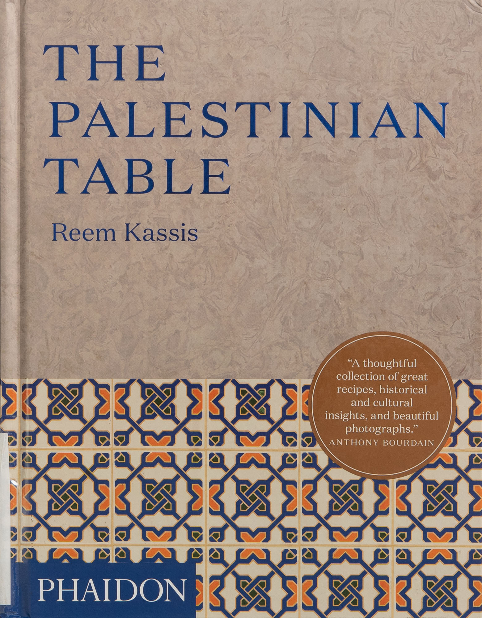 The cover of the cookbook The Palestinian Table by Reem Kassis