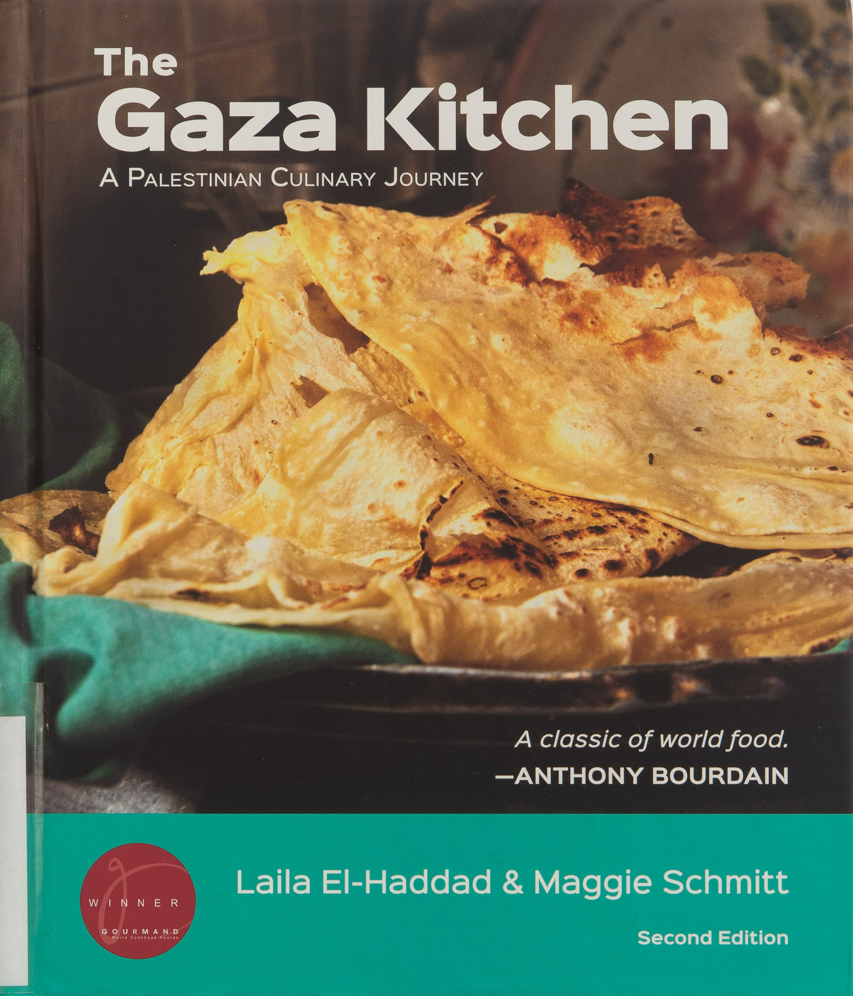 The cover of the cookbook The Gaza Kitchen: A Palestinian Culinary Journey