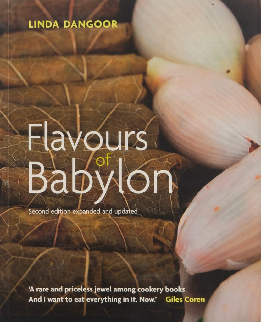 The cover of Flavours of Babylon: A Family Cookbook