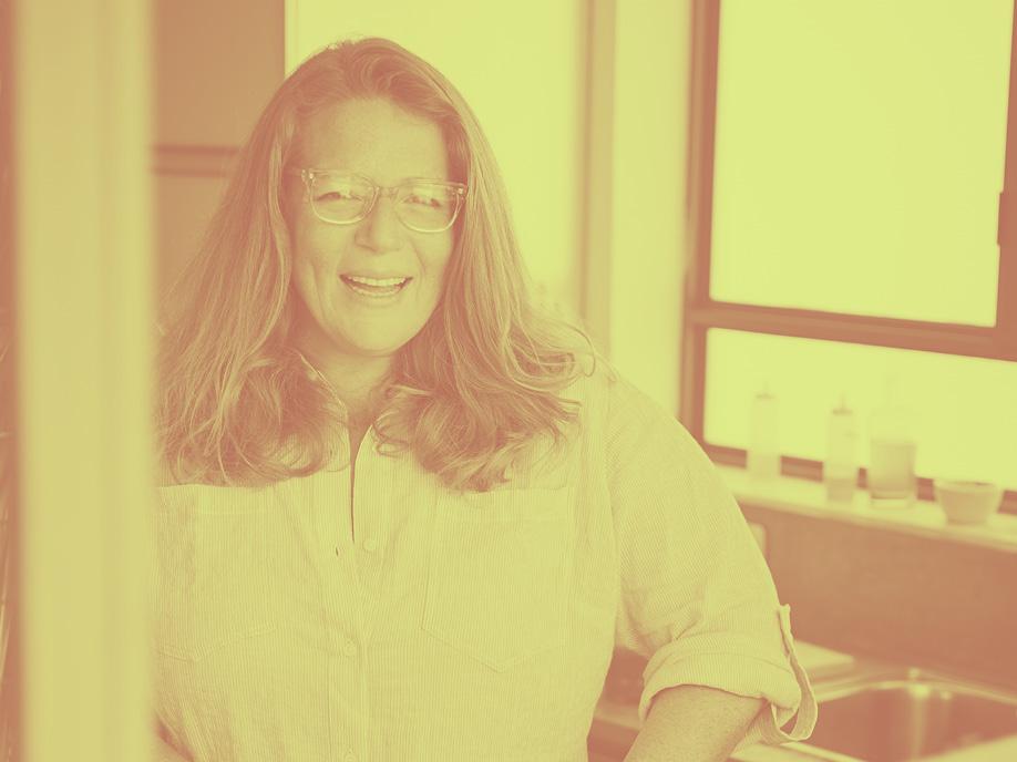 Cookbook author Adeena Sussman in her kitchen