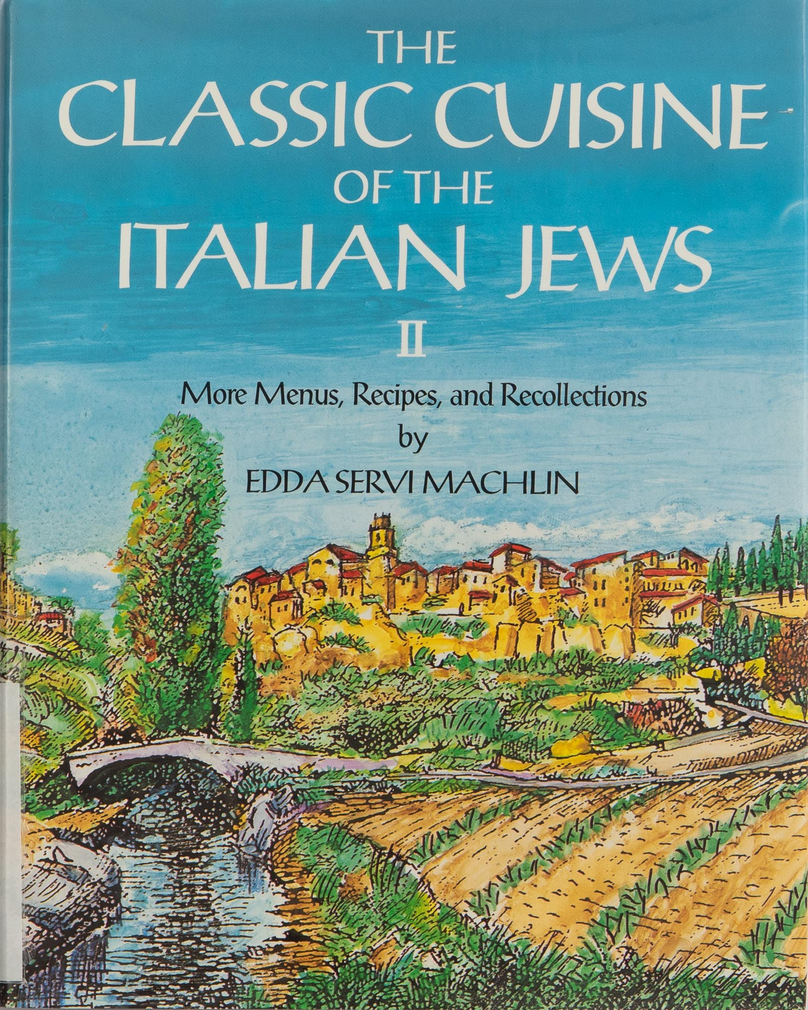 The cover of the cookbook Classic Cuisine of the Italian Jews