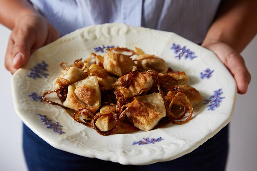 Kreplach (Chicken and Liver Dumplings)